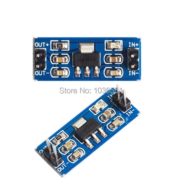 20pcs/lot AMS1117-5.0V Power Supply Module AMS1117 5V for Arduino project(China (Mainland))