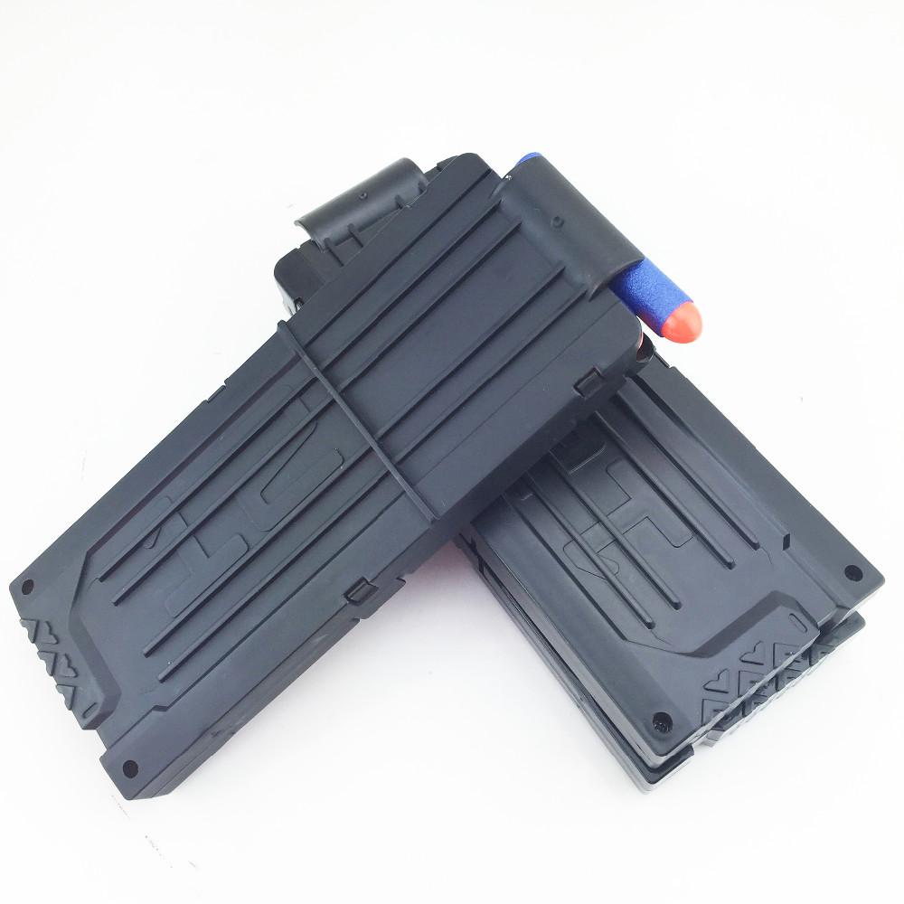 De alta qualidade Gun Magazine para 12 balas brinquedo arma de bala mole clipes Ammo Cartridge dardo armas