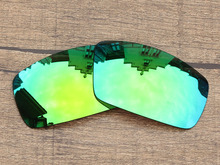 Emerald Green Mirror Polarized Replacement Lenses For Canteen 2006 Sunglasses Frame 100% UVA & UVB Protection