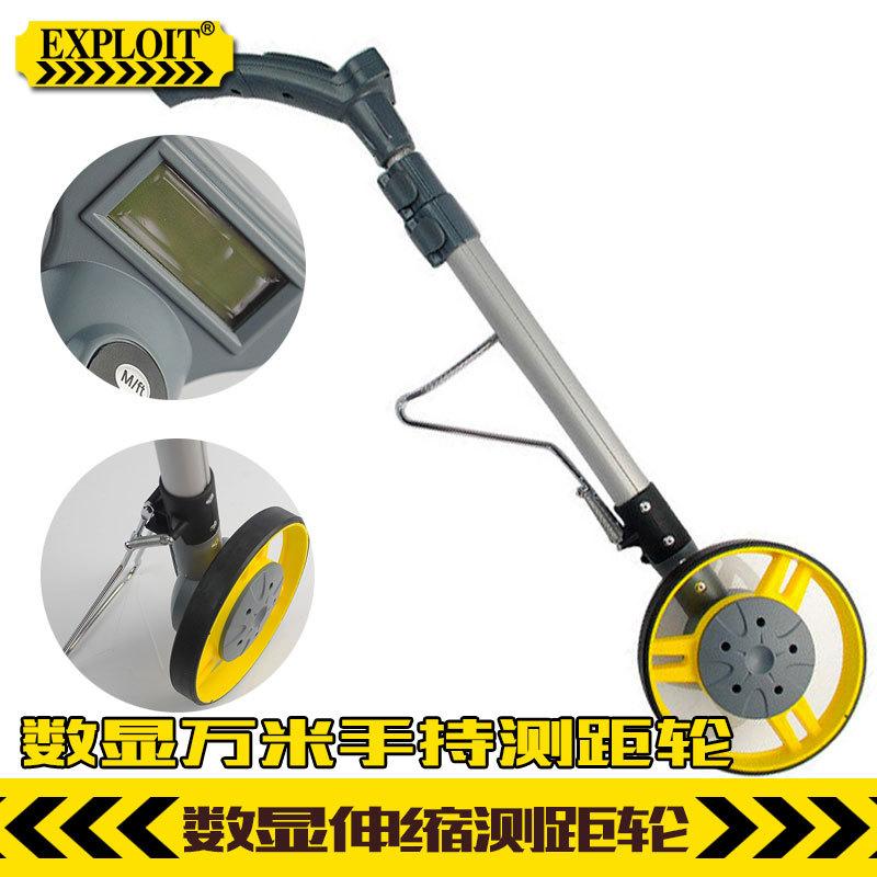 Wheel Measuring Wheel Measuring Wheel Hand-digital rangefinder precision engineering survey roller foot(China (Mainland))