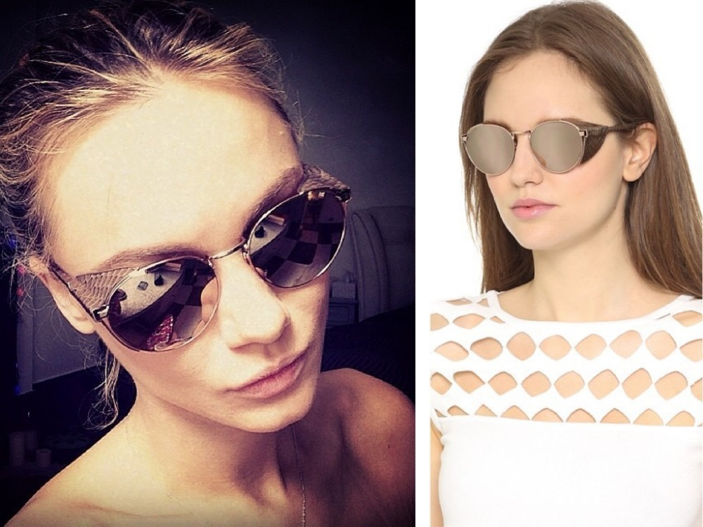 2015 Newest sunglasses mirror sunglass women Spindly Legs Colorful fashion alloy star style free shipping buy any 2 send box(China (Mainland))