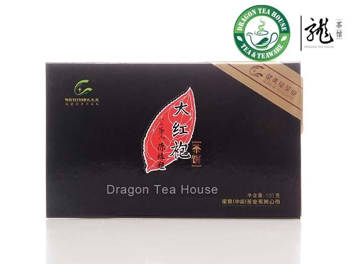 Wuyi Star Gift Pack Da Hong Pao Stick Ooolong Tea 135g(China (Mainland))