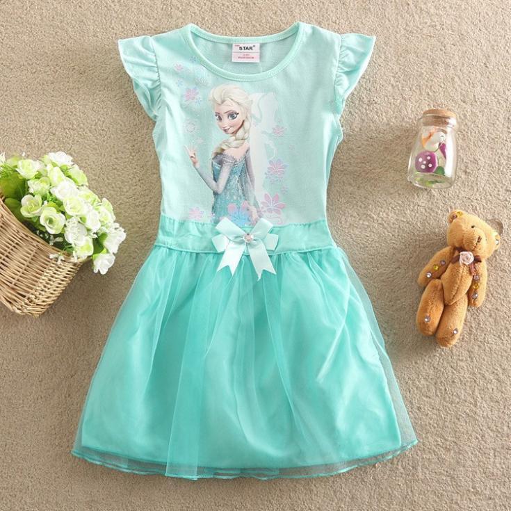 New 2015 children casual dress girls summer fashion dress baby girls Clothing princess dress summer children dress<br><br>Aliexpress