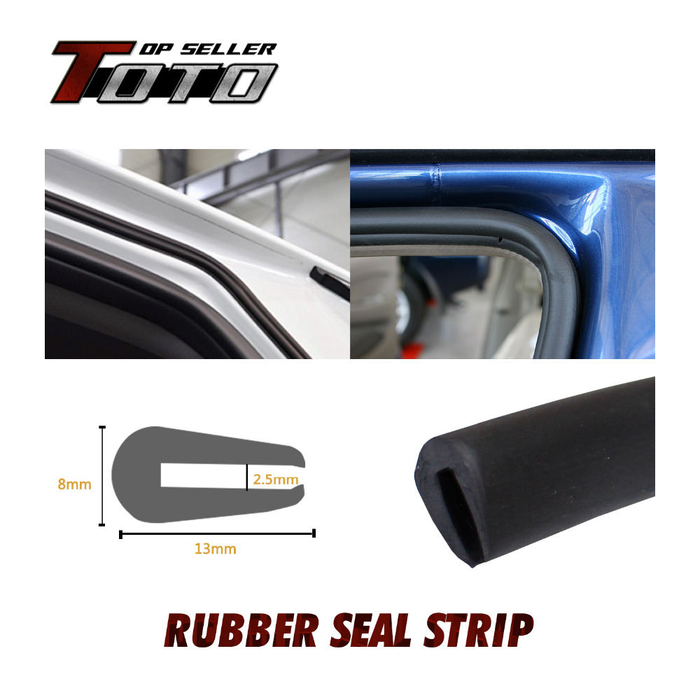 "U pillar Channel 315"" 800cm EPDM Rubber PVC Strip Seal Protector Car Edge Trim sound proofing Air Seal sound proof #64(China (Mainland))"
