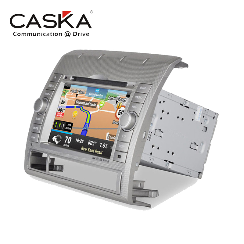 "7"" CASKA Car DVD Player In-Dash System Suitable for Toyota Tacoma Win CE 6.0 GPS Navigation+Bluetooth+Radio+Multimedia+sygic map(China (Mainland))"