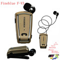 Fineblue F-V3 Bluetooth Headset Mini Wireless Driver Auriculares Stereo Retractable Clip Audifonos Running Earphone for Gym Fone