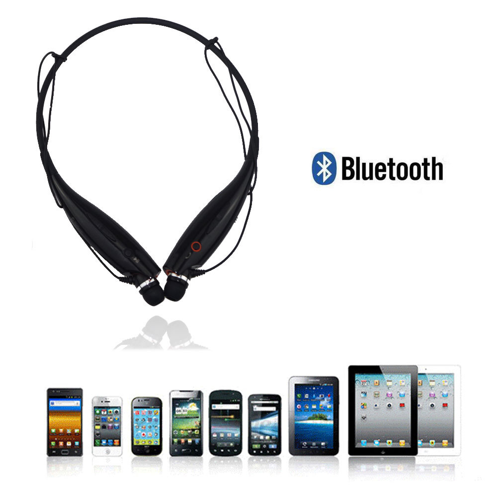 Wireless Bluetooth Stereo Headset Headphone HBS-700 Neckband Style Bluetooth Sport Earphone For Samsung iPhone HTC Tablet(China (Mainland))