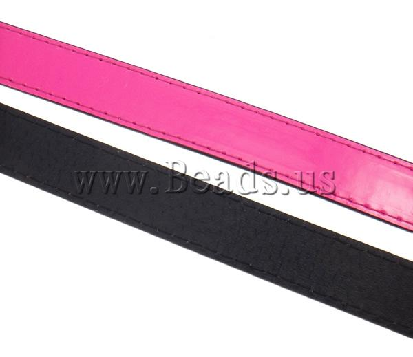 Free shipping!!!Leather Cord,Designer Jewelry 2013, pink, 20x2mm, Length:Approx 20 m, 20Strands/Ba Sold By Bag