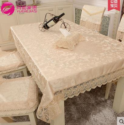 product High quality European fashion style tabel cloth toalha de mesa para festa lace rural tablecloth polyester tablecloths