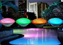Price Discount24W RGB PAR56 LED Swimming Pool Light 12V IP68 351led Outdoor Lighting Underwater Pond lights for fountain piscina(China (Mainland))