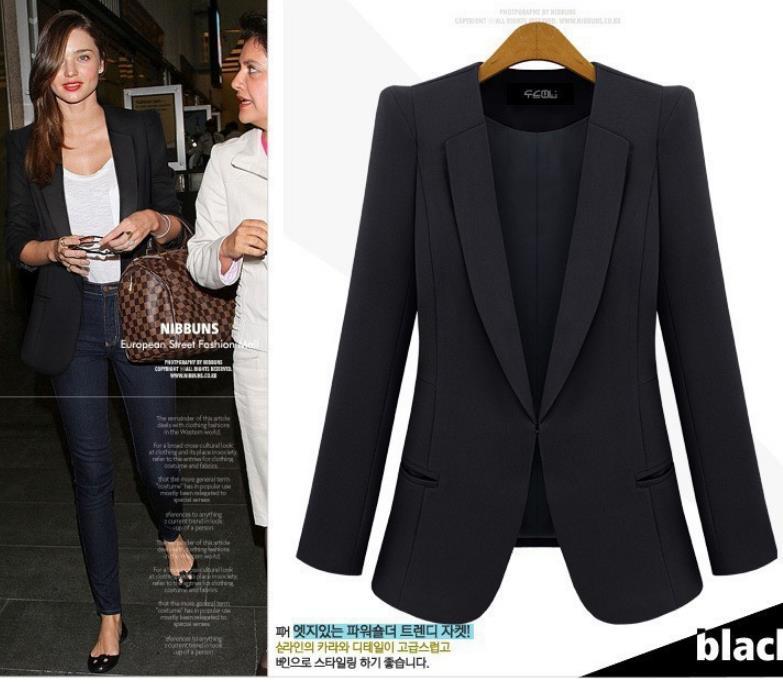 Images of Plus Size Womens Blazers Jackets - Reikian