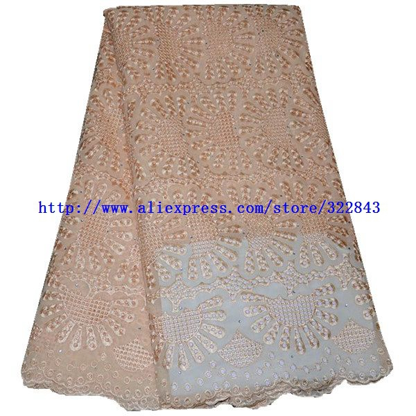 Здесь можно купить  Free shipping By dhl.African Swiss Voile Lace High Quality wedding lace with rhinestone for women dress.african big lace  Дом и Сад