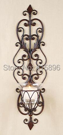 online kaufen gro handel metall wand kerzenhalter aus china metall wand kerzenhalter gro h ndler. Black Bedroom Furniture Sets. Home Design Ideas