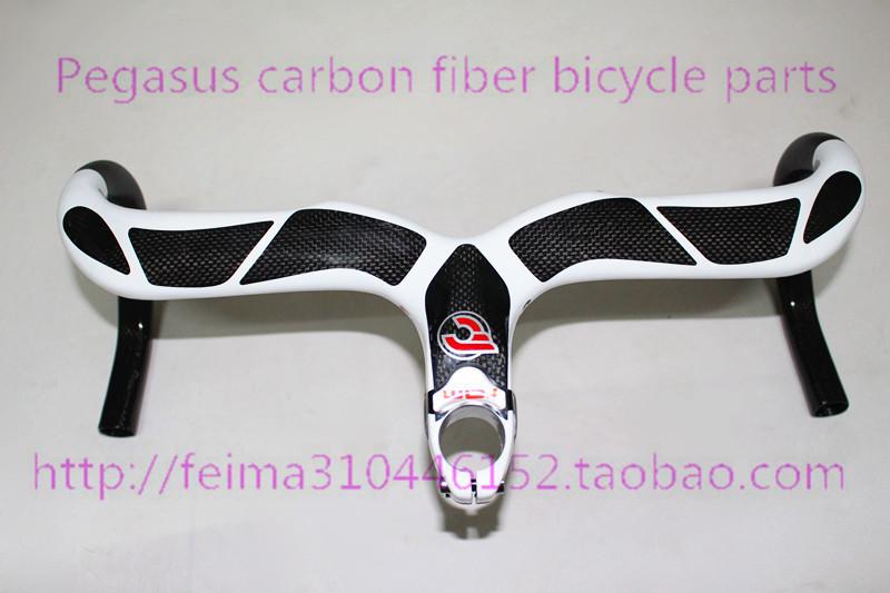 Italy Cinelli Ram 2 carbon handlebar Bianca new top all carbon fiber bicycle handlebar road car bend road handlebar 440-120mm<br><br>Aliexpress