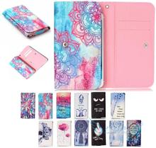 Lovely pattern PU Leather slot wallet mobile phone pouch case skin cover Bag Card Wallet ZTE V5 pro (N939St, 3) - Accessory for 3C Store store