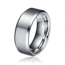 Fathers Day Gift  Big Deal 8MM Men's Tungsten Carbide Wedding Engagement Band Rings Comfort Fit Matte Finish Finger Ring TU040R(China (Mainland))