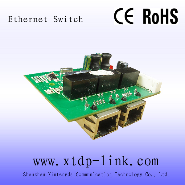 New Promotion Stock Full-duplex & Half-duplex Lacp Snmp Ethernet Switch 2 Port Network Switch Gigabit Ethernet 3 Hub Pcb(China (Mainland))