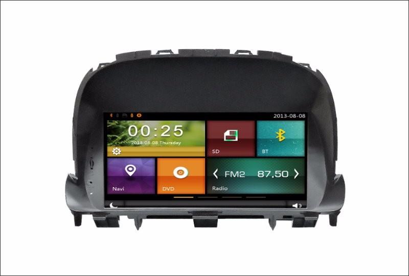 For Vauxhall Mokka X / Opel Mokka 2009~2016 Car Radio CD DVD Player Amplifier HD TV Screen GPS Navigation Audio Video System