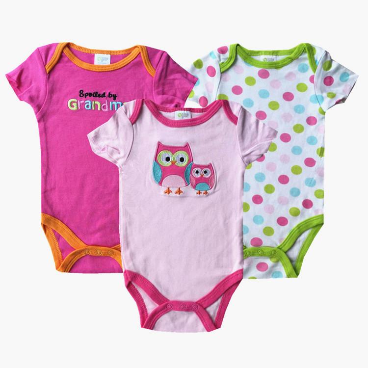 BABY Bodysuit Brand Roupa Infantil Body Bebes Menina Carter Original Baby Girl Boy Bodysuits Clothes Next Baby Clothing Set J3-4(China (Mainland))