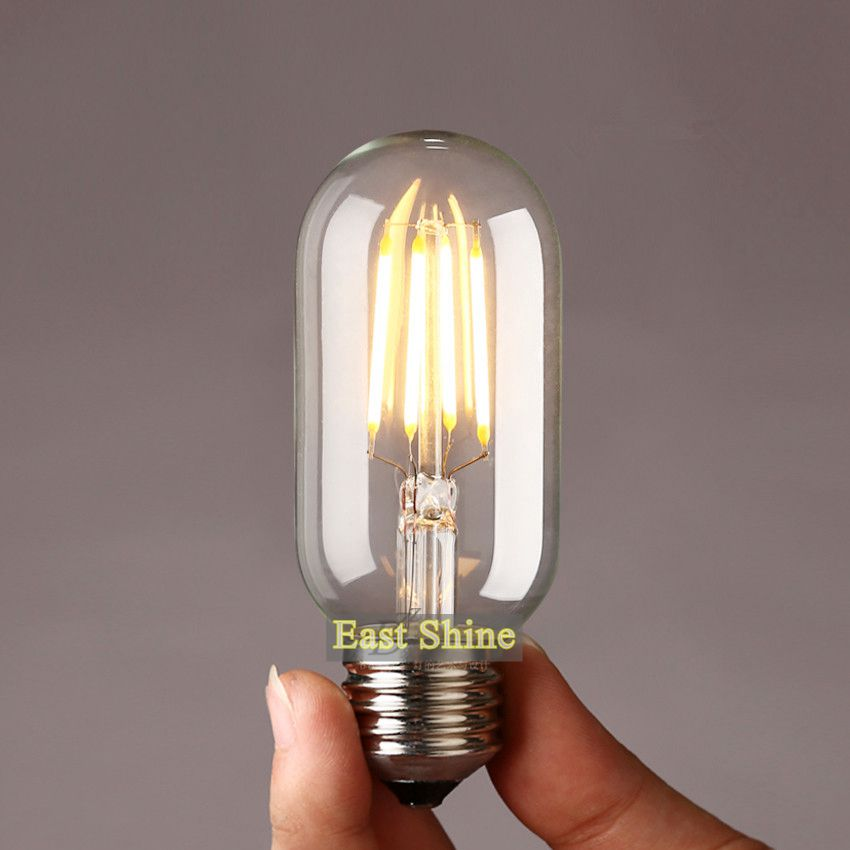 retro vintage e27 led light bulb sapphire chip t45 led edison bulbs. Black Bedroom Furniture Sets. Home Design Ideas
