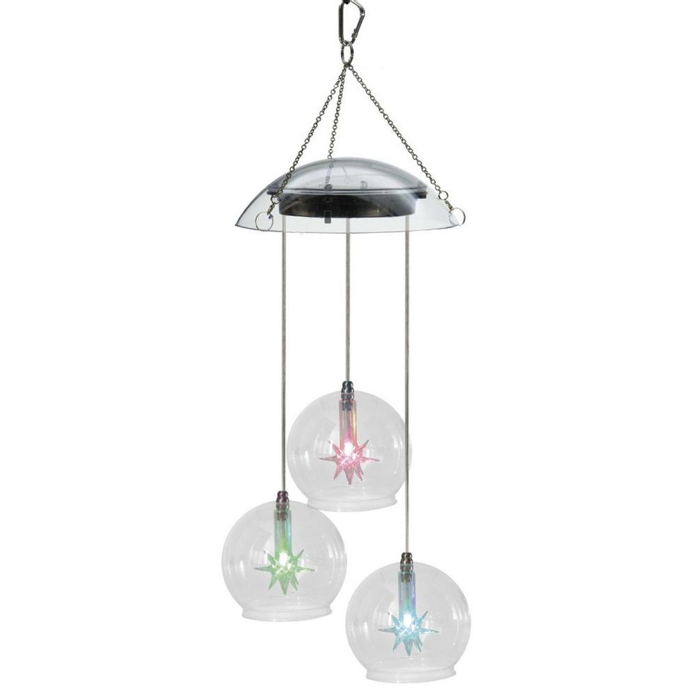 Solar Garden Light Solar Light wind chimes hanging lamp family homes decorative lights solar lights manufacturers supply(China (Mainland))