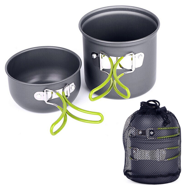 Outdoor Aluminum Camping Cookware Set
