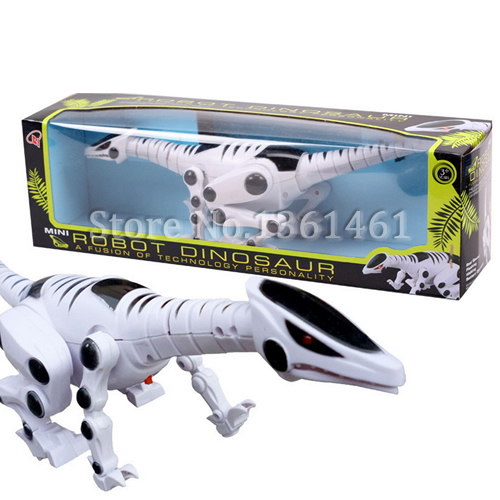 Boys Kids Universal Machine Electric Dinosaur With Light Sound Educational Toy Gift(China (Mainland))