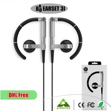 DHL Free Ship10PCS New Brand Black Color B&O Sport Earphone 3.5mm Wired Mini In-ear Fone De Ouvido Celular For Samsung Headphone