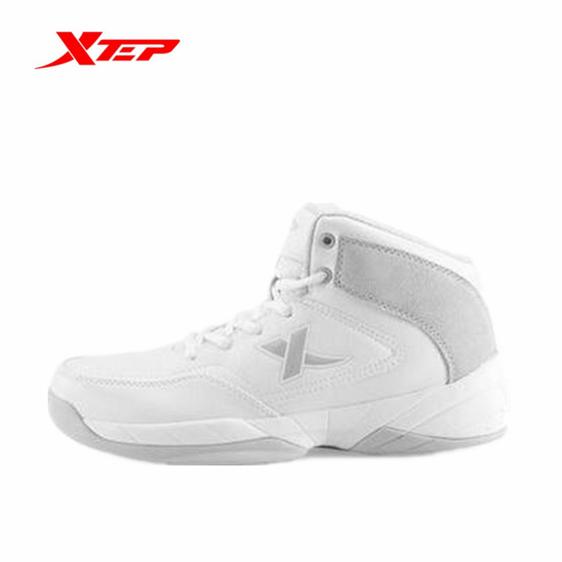 Xtep Men's Outdoor Professional Basketball Shoes Athletic Anti-Slip High Sneakers Male Sports Breathable Shoe 986319129265B3G59(China (Mainland))