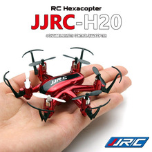 New Arrival JJRC H20 2.4G 4CH 6-Axis Professional Aerial RC Helicopter Quadcopter Toys Drone Kids Gifts