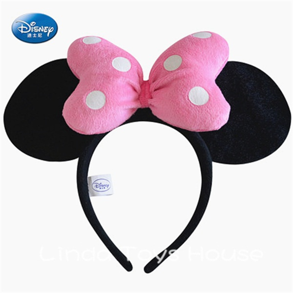 100% real original Minnie mickey Hair Accessories for girls mickey(China (Mainland))