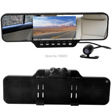 """100pCS/Lot  4.3"""" LCD Screen 1920*720p Car Rearview Mirror DVR 360 Degree Ultra Wide Angle Support Motion Detection G-Sensor  F10(China (Mainland))"""