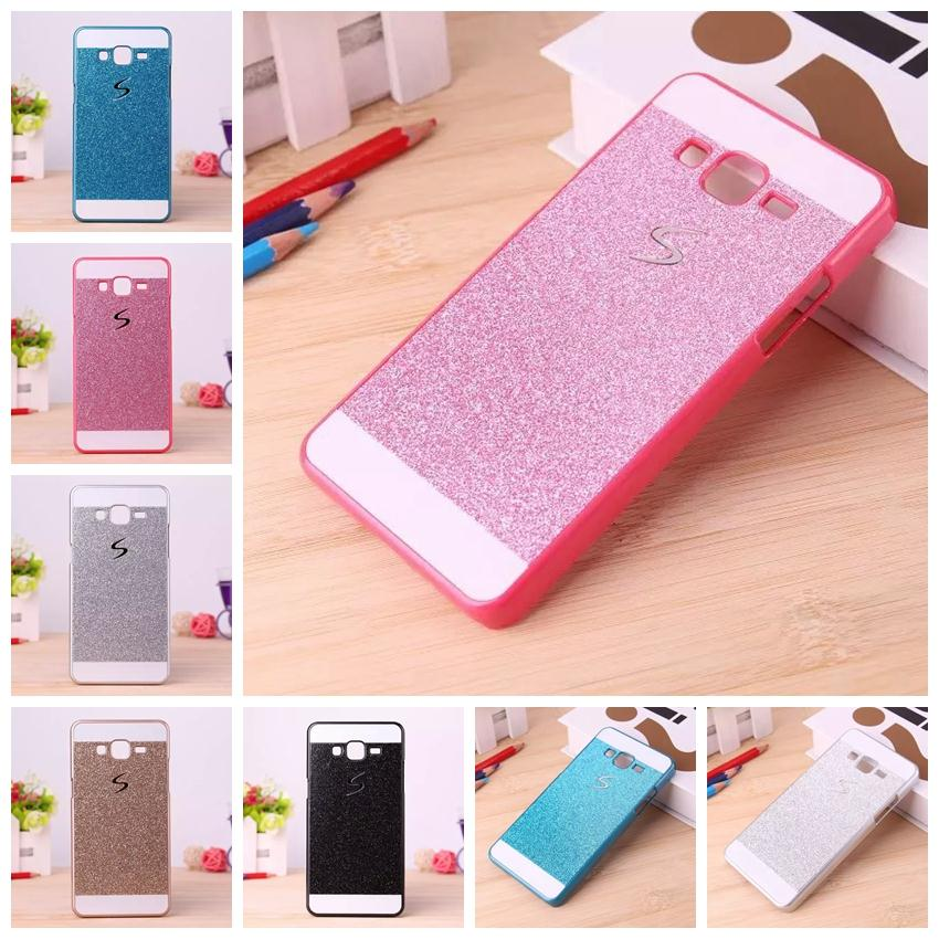 Shinning Case Glitter Cell Phone Back S Line Cover For Samsung Galaxy Core Prime Prevail LTE G360 G3606 G360H G360G G360F(China (Mainland))