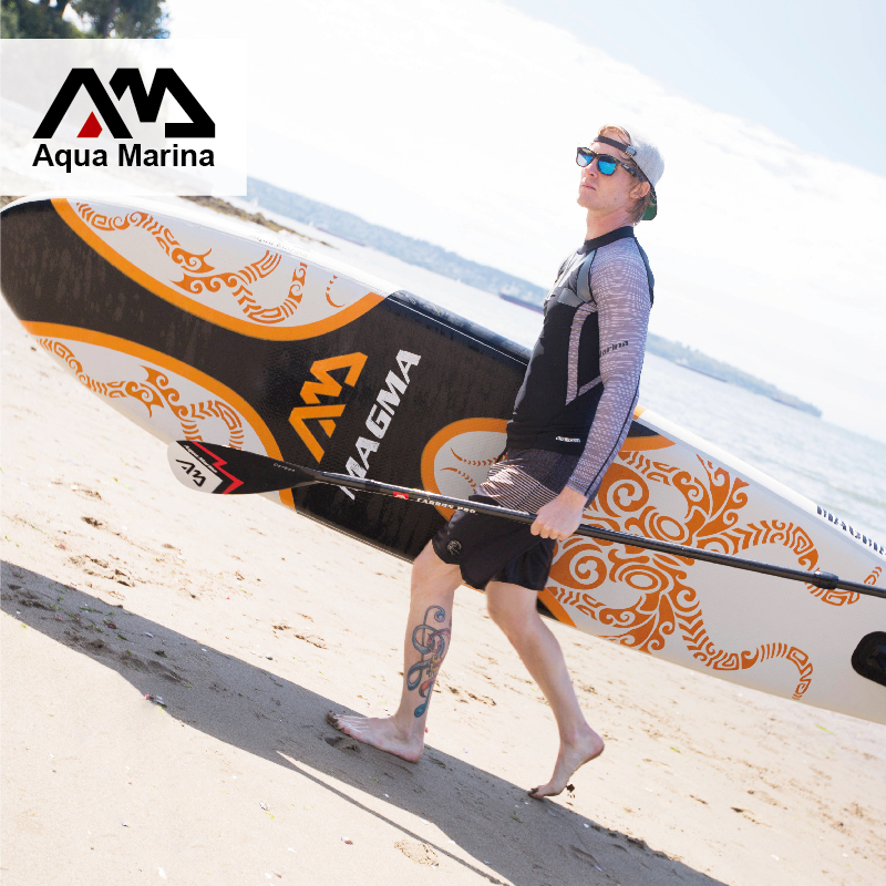 330*75*15cm inflatable surfboard surf board stand up paddle board AQUA MARINA with pedal control sup board bag leash paddle(China (Mainland))