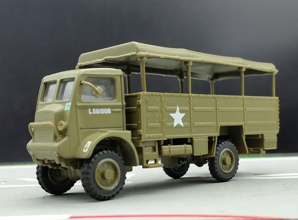 AEMR 1:72 Allies of World War II Bedford QLT troop truck model Static Simulation Model(China (Mainland))