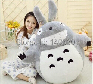 1pcs 60cm Japan Anime Figure Plush pp Cotton My Neighbor TOTORO Pillow Toy Chinchilla Plush Toy Christmas Birthday Gifts(China (Mainland))
