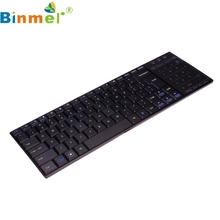Buy GS Binmer Wireless Bluetooth 3.0 Ultra Slim Mini Keyboard Touch Pad Mouse iOS Windows Android Mar 28 for $17.60 in AliExpress store