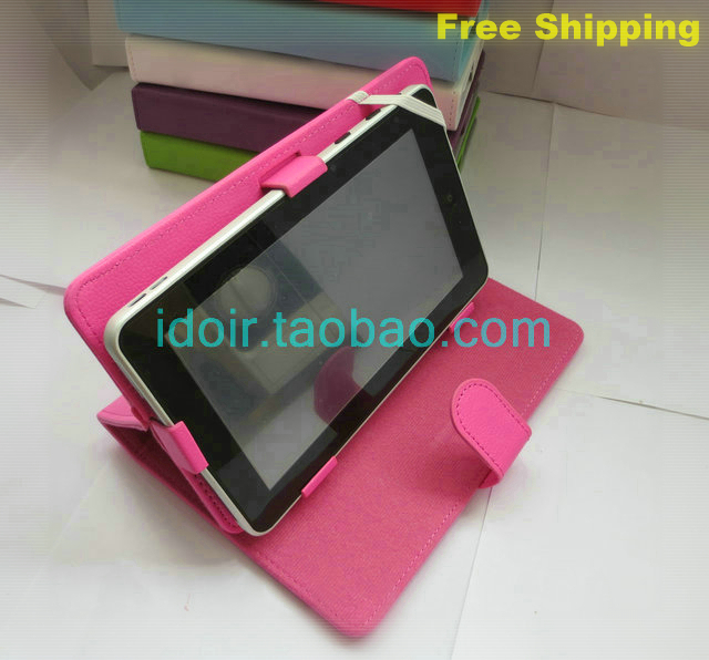 FlipCase Stand Leather Case Cover +Stylus+film 10.1 inch Globex GU110A / PRIMUX SIROCO 4 Basic 10 Tablet - Witglobal Technology Hongkong Ltd 's store