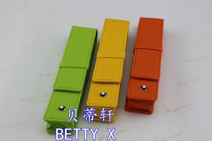 LOTS OF 3 PCS , Green / Yellow / Orange PEN BAG Free Shipping<br><br>Aliexpress
