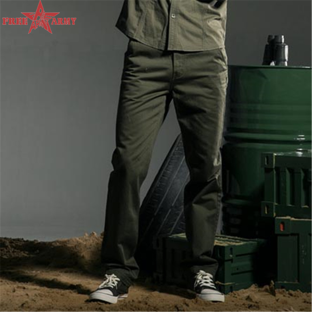 Hot Sell Outdoor Pants Men Army Style Sport Army Green Jogging Sweatpants Men cotton cargo pants Trousers MK-7162A(China (Mainland))
