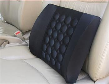 Free Shipping 1PCS Car Auto Vehicle Electrical Massage Back Seat relief lumbar back pain support Cushion Pillow Wholesale(China (Mainland))