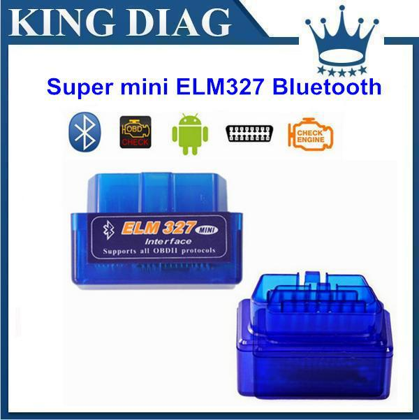 MINI Bluetooth ELM 327 v2.1 OBD2 / OBDII for Android Torque Car Code Scanner with FREE SHIPPING(China (Mainland))