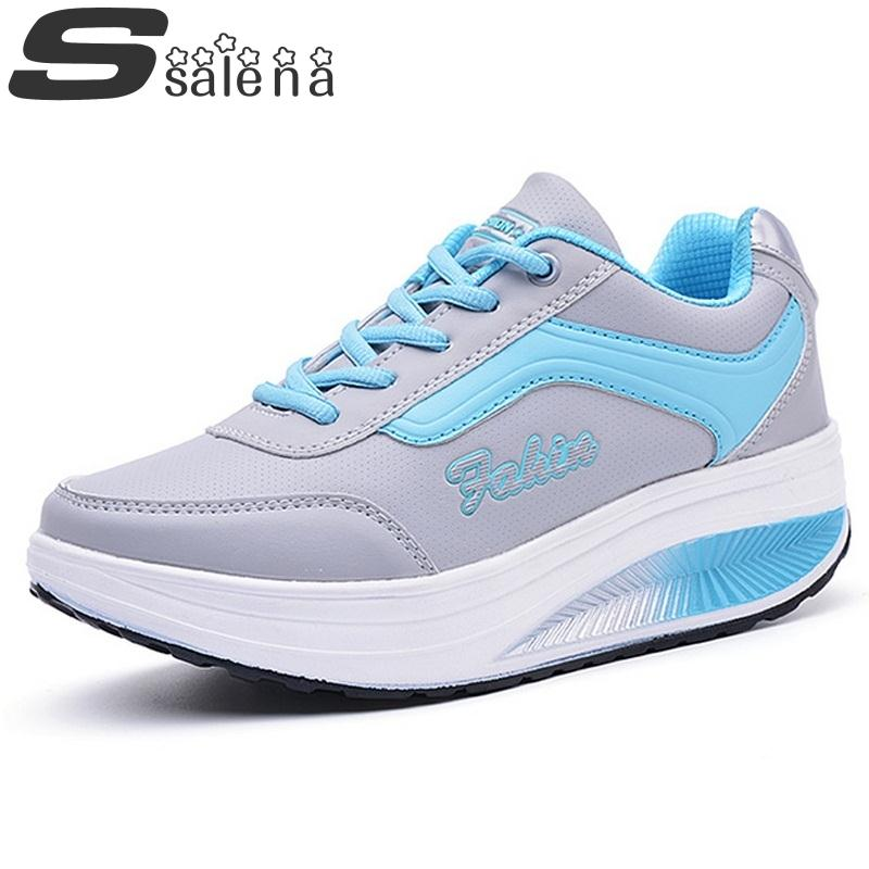 Women casual shoes women elevator shoes breathable soft leather outdoor single shoes heavy bottom shook his swing shoes #B2110<br><br>Aliexpress