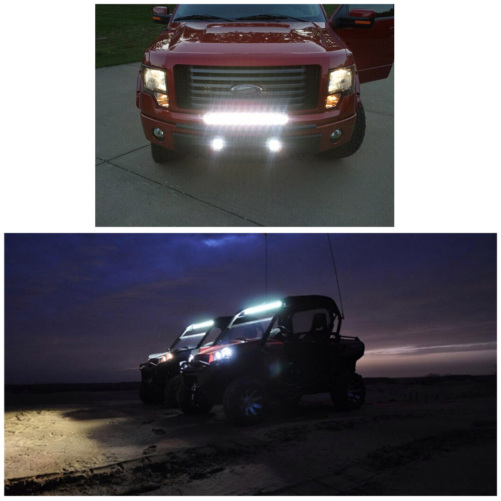 1pc 6.5inch 36W Waterproof CREE LED Work Lamp Light Bar Flood Beam Off-road Car Truck Boat Light for Jeep SUV Car Styling Lamp(China (Mainland))