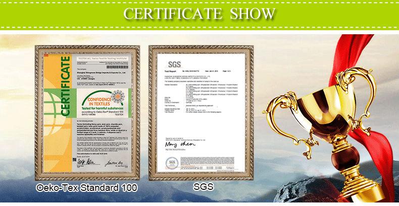 3 Shanghai SMB Oeko tex SGS certificates