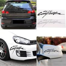 Classic The Spirit Of Competition Car Sticker Styling Decals 3D Carbon Vinyl #71932 (China (Mainland))