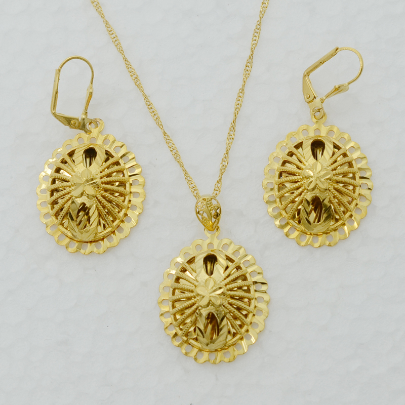 Indian 22k Gold Plated Wedding Necklace Earrings Jewelry: Online Buy Wholesale Brazilian Jewelry Set From China