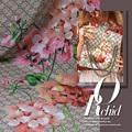 Limited hot sale Senior mulberry silk crepe DE chine fabric summer female print flower tissu au