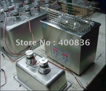 3.2L-electronics ultrasonic cleaner for industrial cleaning(with digital timer&heater)