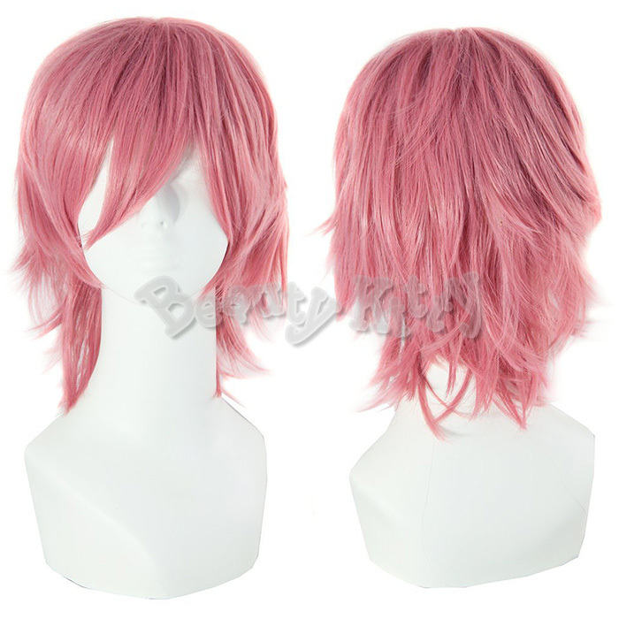 White Anime Boy Wig 111